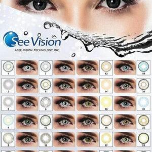 لنز رنگی یسی ویژن see vision 111
