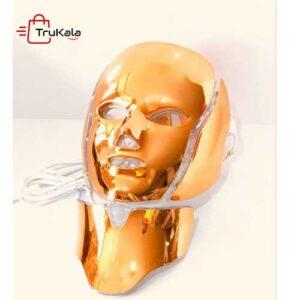 ماسک گلد گردن دار و صورت ال ای دی نور درمانی 2