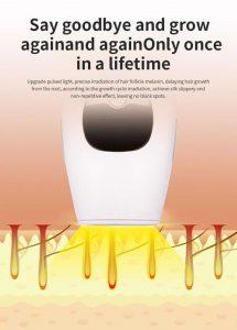 دستگاه لیزر خانگی حذف مو زائد صورت و بدن 2